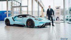 The First Ford Gt Delivery In Belgium