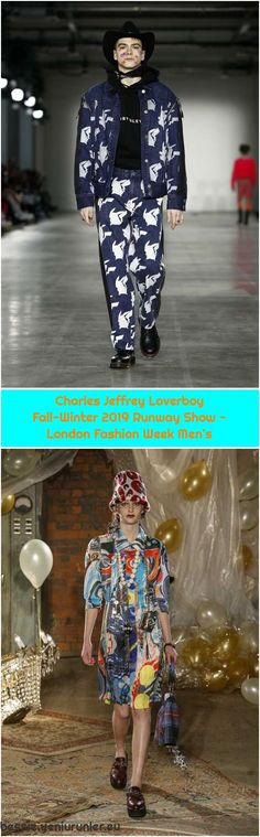 Bobby Abley Fall-Winter 2019 Runway Show – London Fashion Week Men's Charles Jeffrey Loverboy Fall-Winter 2019 Runway Show – Bobby Abley, London Fashion Week Mens, Fashion Weeks, Fall Winter, Runway, Trending Outfits, Boys, Cat Walk, Baby Boys