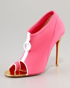 Snorkeling Neoprene bootie from Christian Louboutin 2012 collection