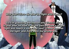 His bad sense of direction saved him omg. Or maybe it's just that he's so loyal to Luffy he won't obey anyone else's commands.