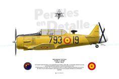 North American T-6 G Texan  EC-DUN cn 197-020 E16-201/793-19