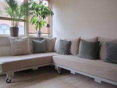 DIY sofa – hjørnesofa eller to gæstesenge | VintageLiv