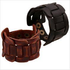 Wholesale 2017 Hot Sale New Fashion Fine Jewelry Men Bracelets Leather Bracelet Man Vintage Accessories