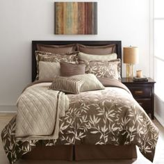 LIFESTYLE LINENS 'Hollandale' 12-Piece Comforter Set - Sears | Sears Canada