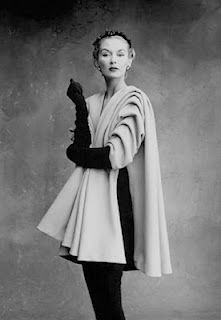 Cristobal Balenciaga - Balenciaga became a favorite of Harper's Bazaar editor, Carmel Snow.  His work demonstrated an almost sculptural forms and shapes.  He was a major force in haute couture in the 50s and 60s.  He closed his establishment quite suddenly in 1968, just before his death in 1972.