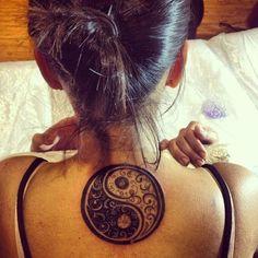 Top Yin Yang Tattoo Designs (7)