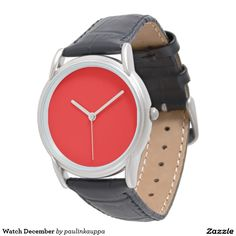 Stylish Watches_Unisex_Navy Cloth & Pewter(c) Wristwatch Classic Leather, Black Leather, Pink Watch, Punk, Stylish Watches, Pink Gifts, Fashion Watches, Black And Brown, Style Ideas