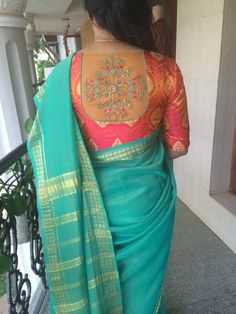 See related links to what you are looking for. Pattu Saree Blouse Designs, Simple Blouse Designs, Silk Saree Blouse Designs, Stylish Blouse Design, Blouse Neck Designs, Mysore Silk Saree, Designer Blouse Patterns, Sarees, Bee