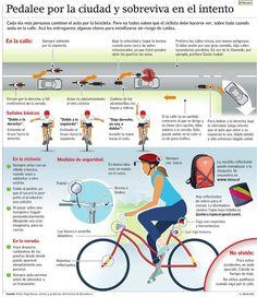 Pedalee por la ciudad y sobreviva en el intento #ciclismo