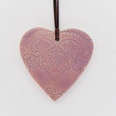 Home Decor handmade hart shape wall décor pink color by light4you