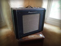 Vintage Accordion Case tube guitar amp. All hand wired!