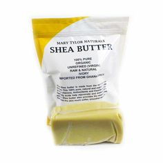 Unrefined Organic Shea Butter Ivory Color 1 Pound