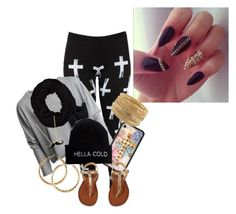 """""""#Hipster"""" by iammissweezybieber143 ❤ liked on Polyvore featuring Blue Pearl, River Island, H&M, Lori's Shoes and Rare London"""