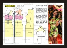 Modelagem de vestido com recortes abertos. Fonte: https://www.facebook.com/photo.php?fbid=572344269468149&set=pb.422942631074981.-2207520000.1382876578.&type=3&theater