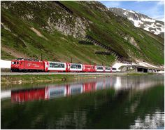 Locomotive, Train, New Construction, Color, Locs