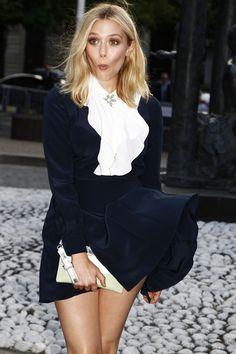Elizabeth Olsens Marilyn Monroe moment