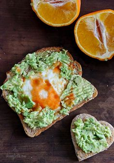 Avocado Toast Egg In A Hole for the one you love!