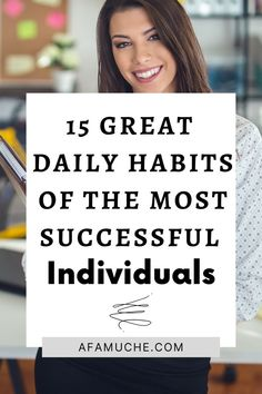 Below are certain habits that these high achievers have adopted to emerge at the pinnacle of success. And you can as well adopt these if you want to become a high achiever in your field.