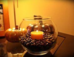 cofee bean candle filler