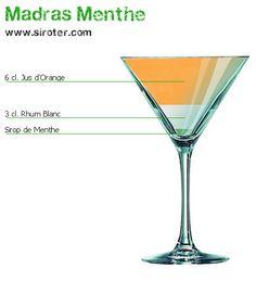 Recette Cocktail MADRAS MENTHE