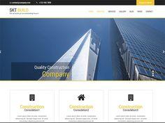 Build Lite - free industrial WordPress themes