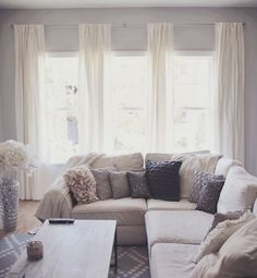 grey and ivory apartment