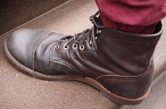 Red Wing Iron Ranger, Red Wing Boots, Mens Attire, Dr. Martens, Combat Boots, Oxford, Wings, Footwear, Shoes