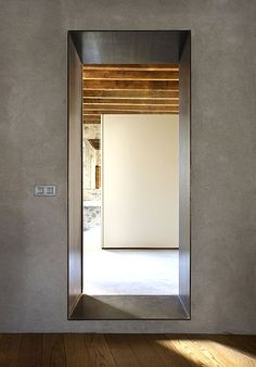 Anna Noguera  | 16th century house conversion in Girona, Spain (photo by  by Enric Duch) (you can actually stay there if you're visiting!!)