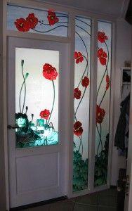 imitation Art Nouveau... Nice door
