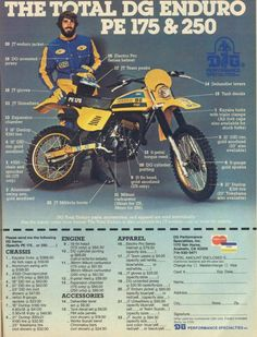 suzuki pe175 pe250 pe400 service repair workshop manual 1977 1981