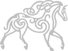 horse celtic art image - Google Search
