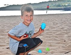 Let's go an Easter egg hunt on the beach!