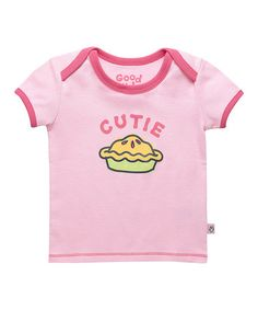 Take a look at this Petal Pink 'Cutie Pie' Ringer Tee - Infant by Life is good® on #zulily today!