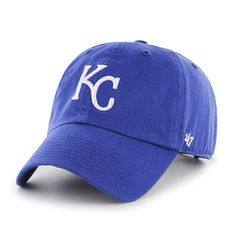 wholesale dealer 73492 bee27 Kansas City Royals Clean Up Royal 47 Brand Adjustable Hat