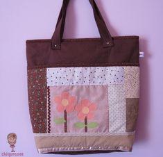 Bolsa patchwork. Loja: www.elo7.com.br/chiquetosa