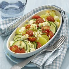 Kartoffel-Zucchini-Gratin Rezept | Weight Watchers