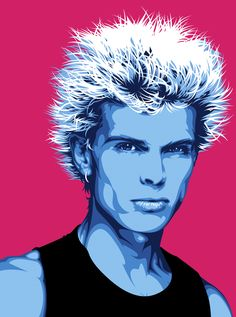 billy idol, I love him!