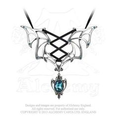 P667 -  Vampires Corset Necklace