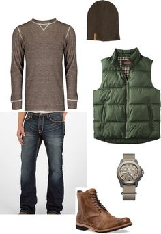 mens outfit ideas - The casual look