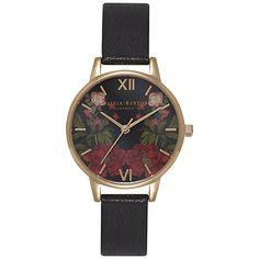 Buy Olivia Burton Women's Oriental Opulence Leather Strap Watch Online at johnlewis.com