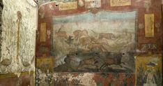 National Geographic, Fresco, Rising Damp, Botanical Decor, Archaeology News, Southern Europe, Large Painting, Ancient Rome, Egyptian