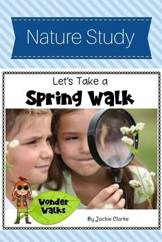 This walk centers around the question, What are signs of spring?