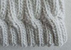 Chunky Cable Hat | The Purl Bee