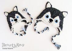 Crochet Wolf Hat