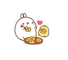 Molang Veggie Ricecake