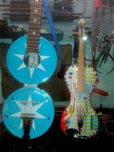 chitarra e violino di latta  string