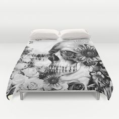Pinterest Duvet Covers Society6 Skull Bedroombedroom Decorbedroom