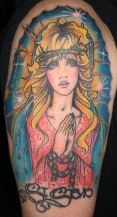 My St. Stevie tattoo