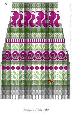 Knitting Socks, Knitting Stitches, Knitting Patterns, Crochet Patterns, Fair Isle Pattern, Mittens, Knit Crochet, Cross Stitch, Embroidery