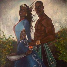 Yemaya y Oggun